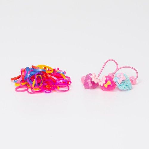 Elastice par, Set cu diferite forme si culori