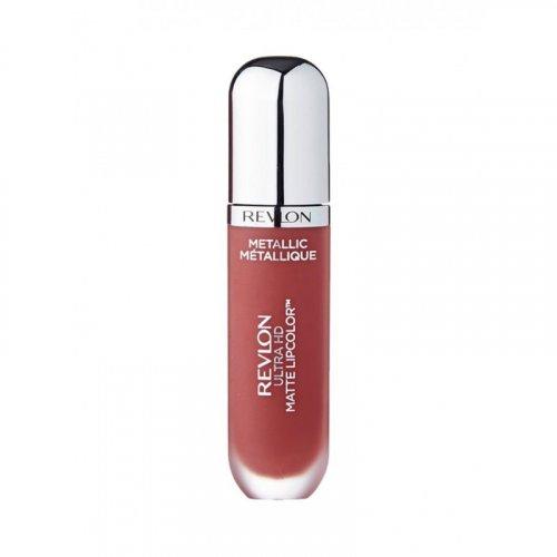 Ruj lichid Revlon Ultra HD Matte Metallic 705 Shine, 5.9 ml
