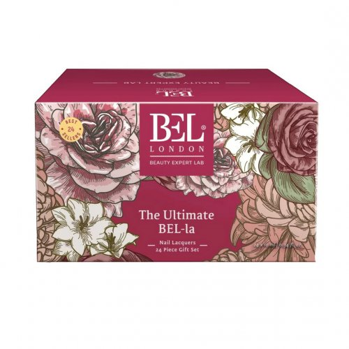 Set Oja de unghii Bel London The Ultimate Nail Lacquer, 24 oje x 10 ml