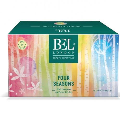 Set Oja de unghii Bel London Four Seasons  Nail Lacquer, 24 oje x 10 ml
