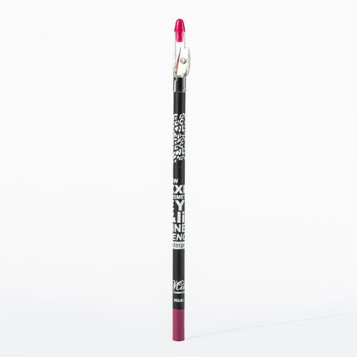 Creion dermatograf, de ochi si buze cu ascutitoare, Fuchsia