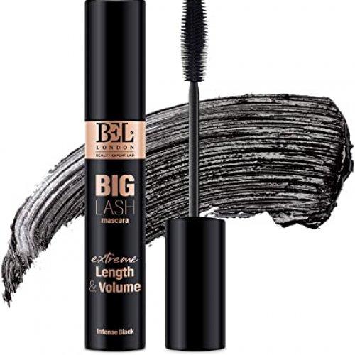 Rimel Big Lash Mascara Extreme Length and Volume, Alungire si Volum, Negru Intens, 13.5ml