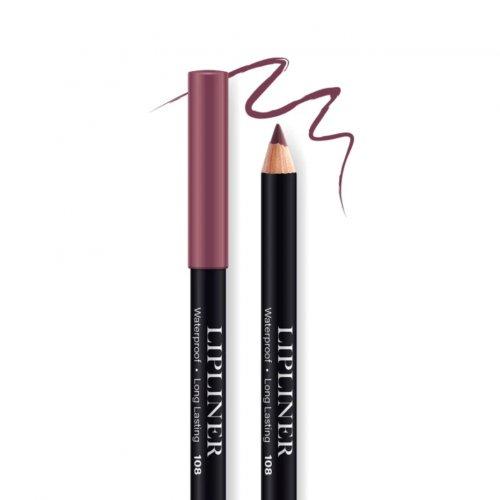 Creion contur de buze rezistent, Bel London Lip Liner Long Lasting, 108, 0.78gr