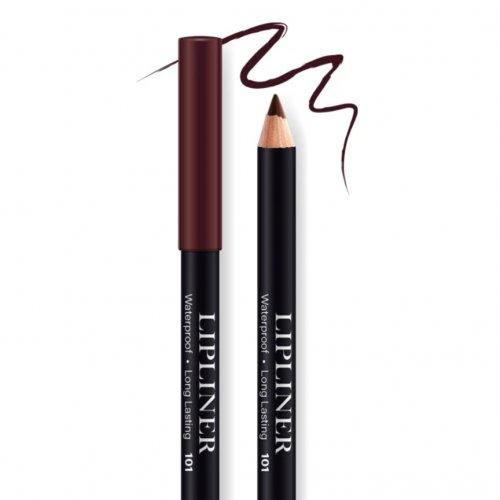 Creion contur de buze rezistent, Bel London Lip Liner Long Lasting, 101, 0.78gr