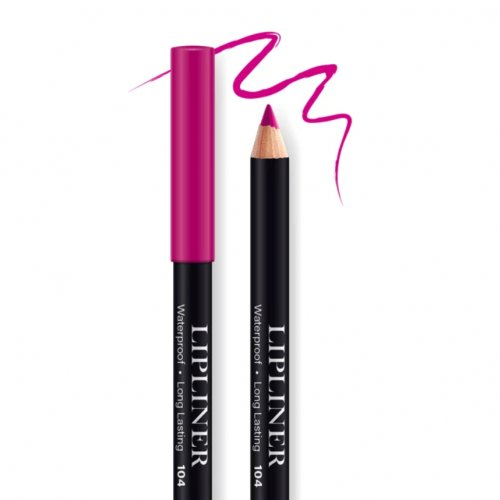 Creion contur de buze rezistent, Bel London Lip Liner Long Lasting, 104, 0.78gr