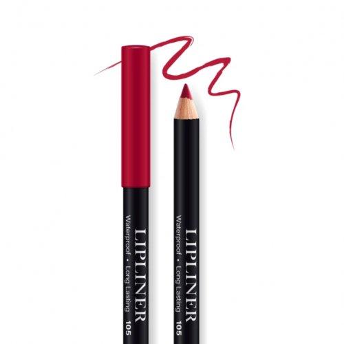 Creion contur de buze rezistent, Bel London Lip Liner Long Lasting, 105, 0.78gr