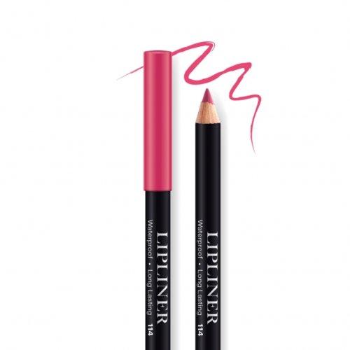 Creion contur de buze rezistent, Bel London Lip Liner Long Lasting, 114, 0.78gr
