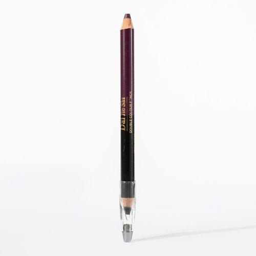 Creion dermatograf, de ochi si buze, cu ascutitoare, negru/mov, 5g