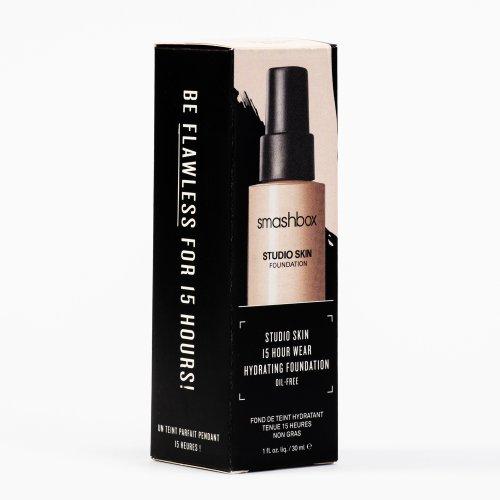 Fond de ten, Studio Skin hidratant, 24H, Nuanta  0.5 light, 30ml