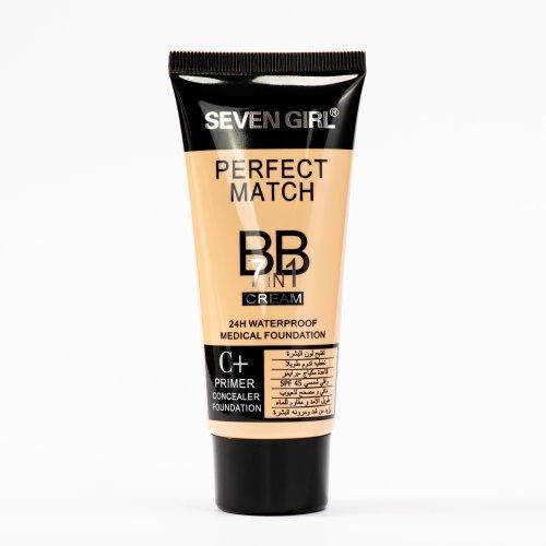 BB Cream, Crema colorata si hidratanta, 24h Lasting,  waterproof, Nuanta 101, 70ml