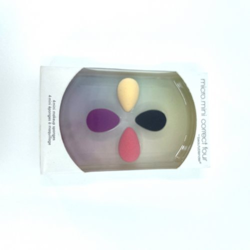 Beauty Blender, Set 4 bucati, mini buretei