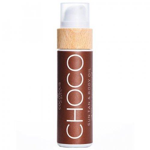 Ulei Cocosolis CHOCO Sun Tan & Body Oil, 110ml