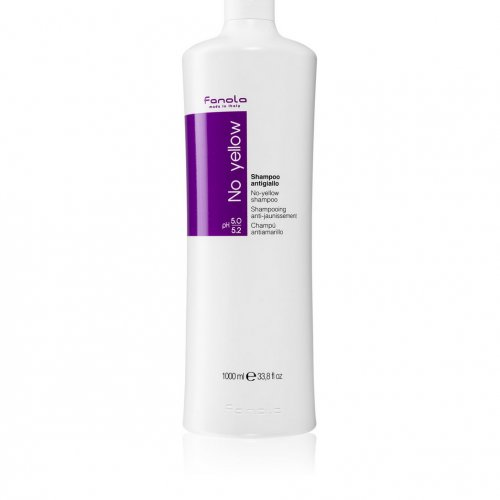 Sampon Fanola, No Yellow Shampoo, Anti-ingalbenire, 1000ml